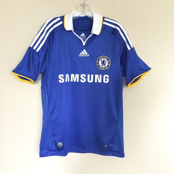 buy popular d3f56 1d89c ADIDAS Chelsea FC Soccer Jersey Blue Small